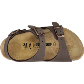 Birkenstock Roma Sandals Birko-Flor Birkibuc Narrow Kids, mocha
